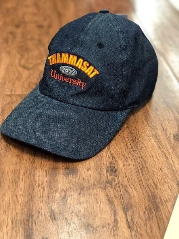 หมวก Cap ปัก 2477 #T8100015 สียีนส์